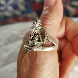 Other - Men's Ring 100 % Sterling silver large athletic